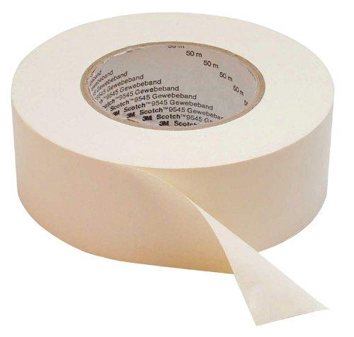 Scotch Gewebeklebeband, 25 mm x 50 m, 1 Rolle, weiß