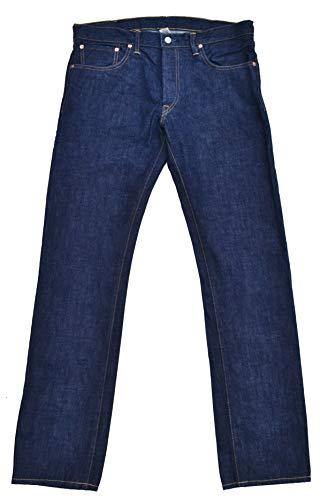 Ralph Lauren Double RL RRL Jeans Selvedge Raw Denim Low Straight Dunkelblau W33 L32 -
