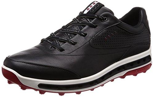 Ecco Cool Pro, Chaussures de Golf Homme, Noir (Black/Brick 50612), 42 EU