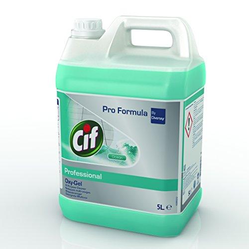 Cif Oxygel Océan - Nettoyant sols multi-usages professionnel - 5L