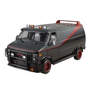 Hotwheels (mattel) - X5531 - Véhicule Miniature - Modèle À L'échelle - Hotwheels (mattel) - Gmc Van Agence Tous Risques Classique - Echelle 1/18