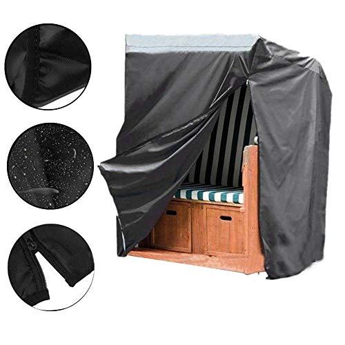cuckoo-X Home Furniture Bankstuhl, staubdicht und wasserdicht, universelle Schutzabdeckung für Gartenbänke, M(135x170x105cm)
