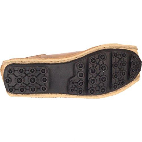 meilleur site attrayant et durable détails pour MatchLife Femme Vintage Cuir Chaussures Plates Sandales Vert ...