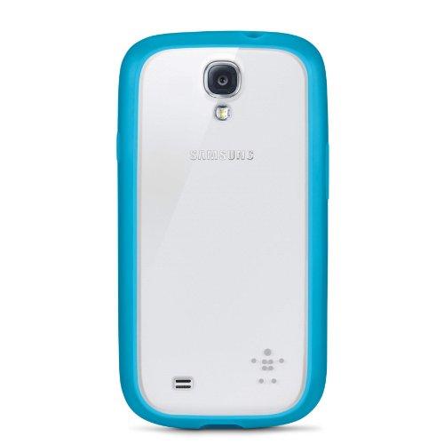 Belkin View Case (geeignet für Samsung Galaxy S4) türkis Belkin View Case