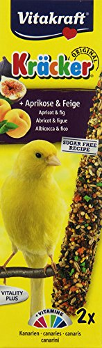Vitakraft Kanarien Kräcker Frucht, 10er Pack (10 x 60 g)
