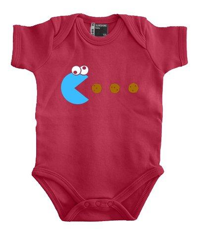 touchlines-body-per-bambino-motivo-pacman-disponibile-in-colori-assortiti-taglia-56-80-cm