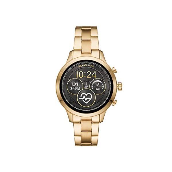 Michael Kors Smartwatch para Mujer con tecnología Wear OS de Google, altavoz, frecuencia cardíaca, GPS, NFC y… 1