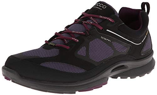ECCO - Scarpe, Donna Nero (Black/Light Purple/Burgundy)