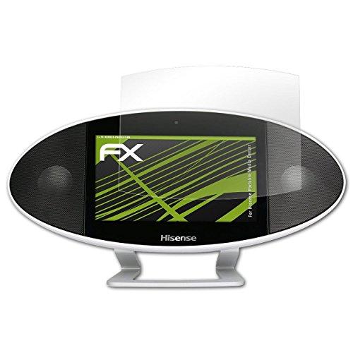 atFoliX Displayfolie für Hisense Portable Media Center Spiegelfolie, Spiegeleffekt FX Schutzfolie