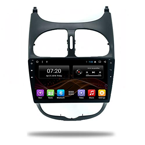 Forever 9 Pulgadas Android 7.1/8.1 2 DIN Car no DVD Multimedia for...