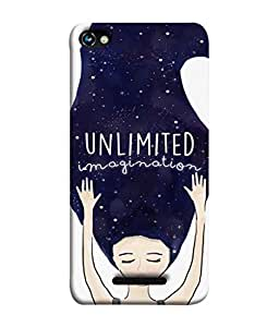 PrintVisa Designer Back Case Cover for Micromax Canvas Hue 2 A316 (Sweet Dreams Night Sky Stars Galaxy )