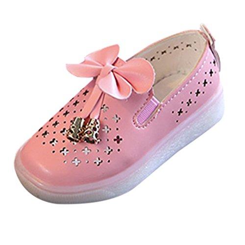 Transer Girls Hollow Butterfly Schuhe Schuhe Prinzessin Schuhe (26, PK) (Prinzessin Butterfly)