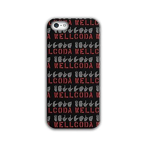 Signe La langue Amusement Geste Noir 3D iPhone 5 /