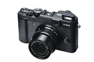 Fujifilm X20 Fotocamera Figitale 12 Megapixel, Sensore X-Trans CMOS II, Zoom 4x 28-112 mm, Stabilizzatore Ottico, Nero