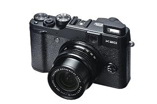 Fujifilm X20 Digitalkamera (12 Megapixel, 4-fach opt. Zoom, Full-HD, 7,1 cm (2,8 Zoll) LCD CMOS Sensor, HDMI, bildstabilisiert, USB 2.0) schwarz (B00AX12ZKY) | Amazon price tracker / tracking, Amazon price history charts, Amazon price watches, Amazon price drop alerts