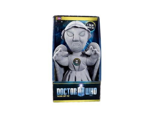 Doctor Who Weeping Angel Talking Plush (Medium)