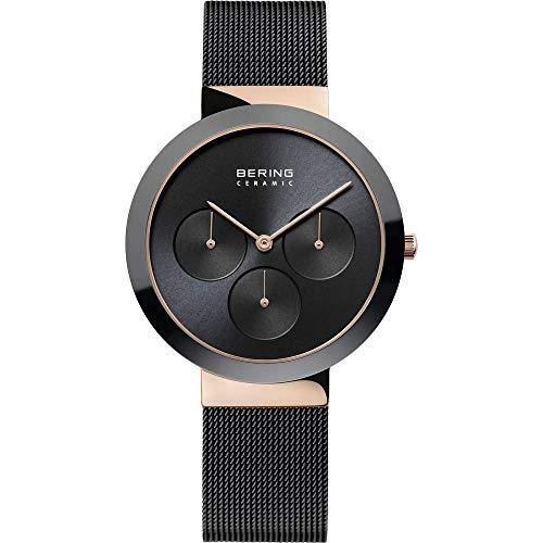 Reloj Bering 35036-166 Mujer Negro Acero