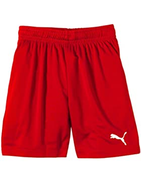 Puma SMU Velize Shorts W/O Innerslip - Pantalones cortos de fútbol para niño, color rojo, talla 128 cm