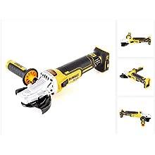 Dewalt DCG405FN-XJ DCG405FN Cordless XR Brushless Flathead Angle Grinder, 18 V, Yellow/Black, 125 mm
