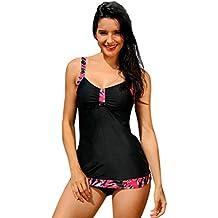 Las Mujeres De ImpresióN Bikini Conjunto Trajes De BañO De Dos Piezas Trajes De BañO Traje De Playa