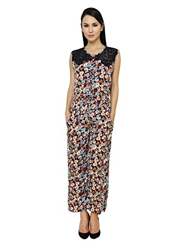 Renka Floral Print Cotton Jumpsuits for Women