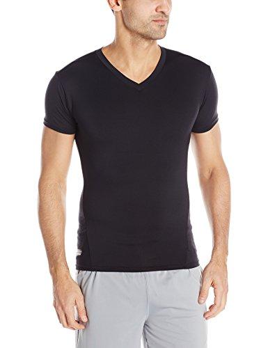 Preisvergleich Produktbild Under Armour UA1216010S-3XL Tactical T-Shirt V-Neck HeatGear, Schwarz, 3XL