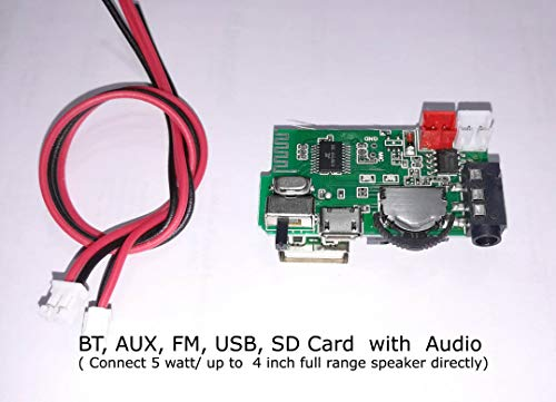 Salcon Electronics Bluetooth Stereo Adapter Audio Receiver Music Wireless HiFi Dongle USB Mp3 Car Speaker