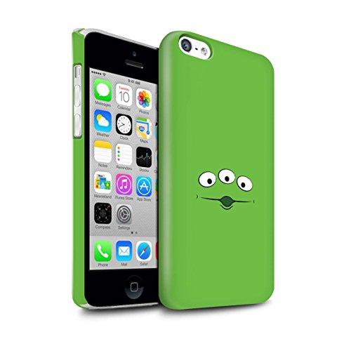 Stuff4® Glanz Snap-On Hülle/Case für Apple iPhone 5C / Spielzeug Alien Inspiriert Muster/Süße Spielzeugfiguren Kollektion