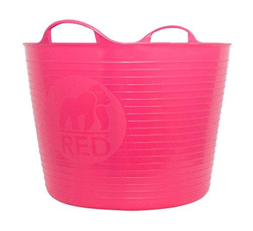 Decco Ltd Cubo Flexible, Rosa, 42 litros