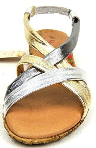 Marila, Sandali donna Argento argento 36 metal-multi