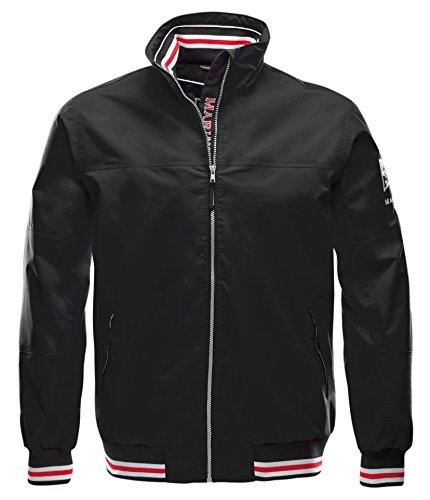 Marinepool Herren Segeljacke Heist Storm Jacket, Black, L