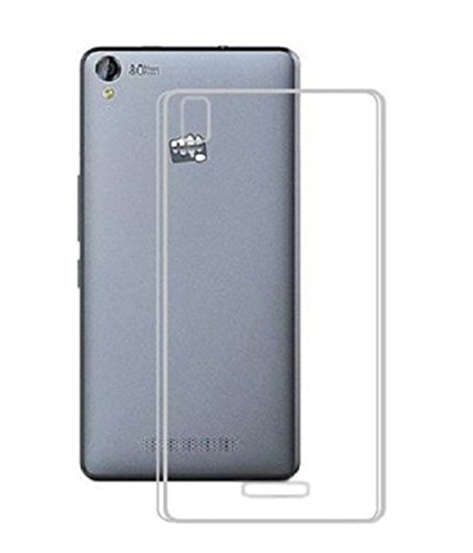 Stromax High Quality Ultra Thin Transparent Silicon Back Cover For Micromax Canvas Juice 4G Q461  available at amazon for Rs.125