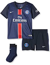 Nike PSG Home Infants Kit - Conjunto Deportivo para niños, Color Azul Marino/Blanco