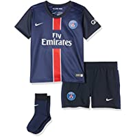 Nike PSG Home Infants Kit - Conjunto Deportivo para niños, Color Azul Marino/Blanco