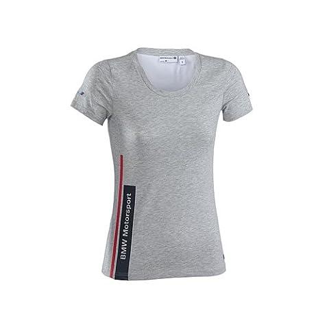 BMW T-shirt de moto pour femme XL Gris - Gris