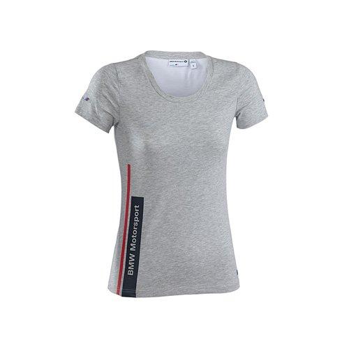 BMW Motorsports Damen T-Shirt Motorsport Womens Tee, Grau, M, 7000028-150-225 (Womans Bmw Bekleidung)