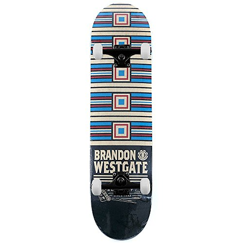 element-skateboard-brandon-westgate-premire-phase-pro-skateboard-complet-multi-206cm