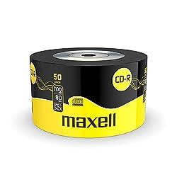 Maxell 624036 CD-R80XL - 50 x CD-R - 700 MB ( 80min ) 52x - storage media