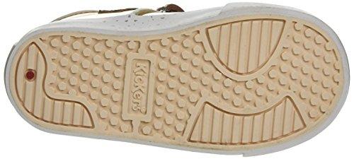 Kickers Tovni T, Sneakers basses fille Doré