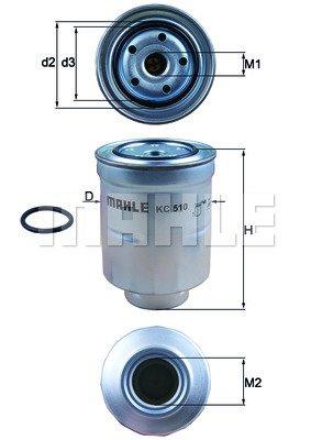 Preisvergleich Produktbild KNECHT KC 510D Einspritzanlage