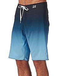 Pantalón corto de boxeo - Waxx profundidad de Surf de manga corta para hombre Sea