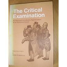 The Critical Examination
