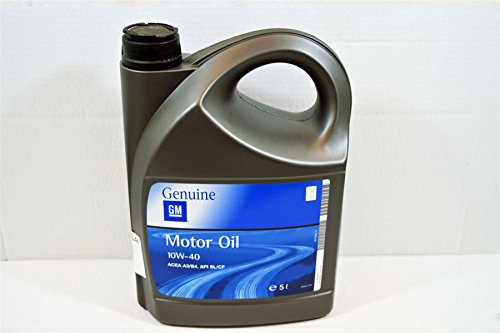 LSC 93165216 - Semi-synthetic engine oil of 5 liters (10 W / 40)