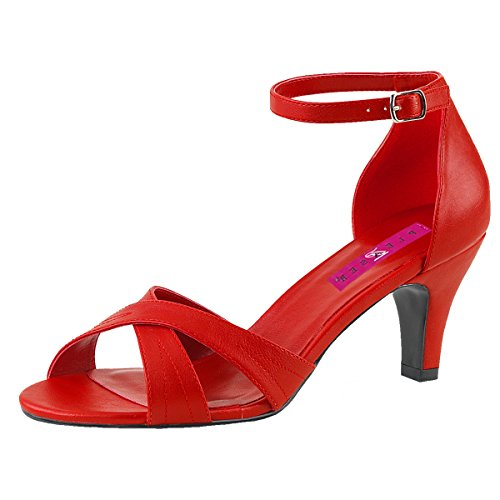 Heels-Perfect , Sneakers Basses femme Rot (Rot)