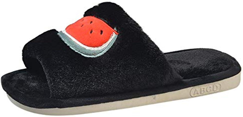 YEBIRAL Les Chaussures Femme des Fruits Modèle Peluche Accueil PantouflesB07KKHZDSSParent PantouflesB07KKHZDSSParent Accueil bad820