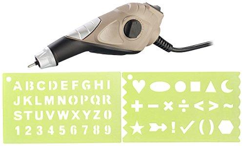 AGT Graviergerät: Gravurgerät mit Karbidspitze, 5 Stufen mit bis 6.000 U/Min, 13 Watt (Gravierer)