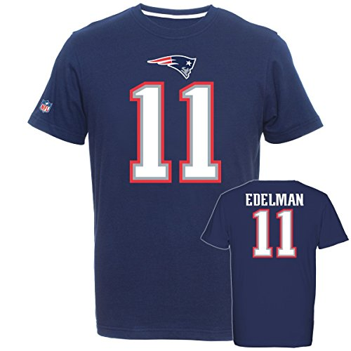 Majestic NFL Fan Shirt - New England Patriots Julian Edelman, Größe L