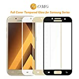 Panzerglas Schutzfolie Film,Full Screen Tempered Glass for Galaxy A3 A5 A7 A 320 520 720 Front Full Cover Protective Film Scr