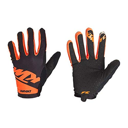 KTM Factory Cycle Bike Enduro MTB Orange Gloves