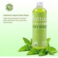 Proto Cool Solución de limpieza de tatuajes con jabón verde de importación Natural para la limpieza de la piel Después del cuidado Accesorios para tatuajes